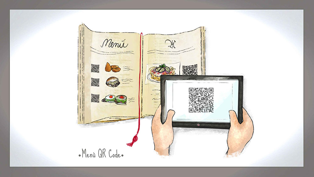 Marketing Strategy Presentation Ideas - QR Code -