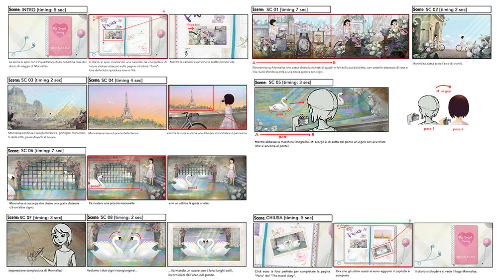 "Storyboard Episode ""Paris"""