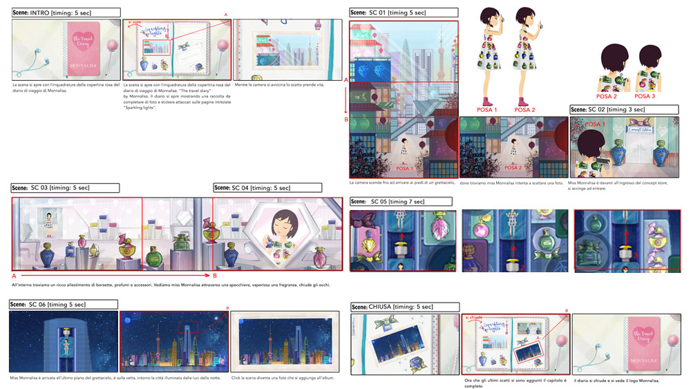 "Storyboard Episode ""Sparkling"""