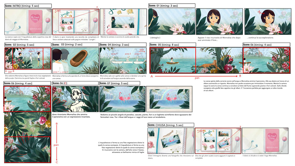 "Storyboard Episode ""Jungle"""