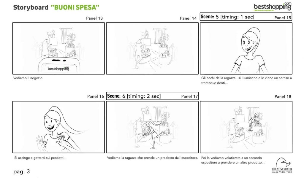 storyboard for video tutorial