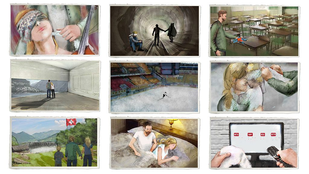 Moodboard for TELEVISION PROMOS - RSI -